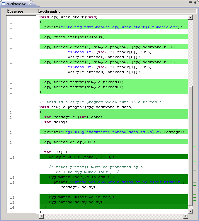Code Coverage Source Annotation (click to zoom)